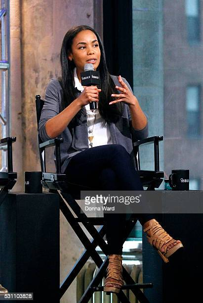 Sarah Ribner appears to discuss Shark Tank during the AOL BUILD Speaker Series at AOL Studios In New York on May 12 2016 in New York City