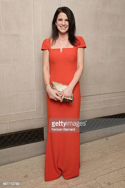 Sarah Richardson attends the The Frick Collection 2015 Young Fellows Ball A Dance at the Spanish Court sponsored by LANVIN at The Frick Collection on...