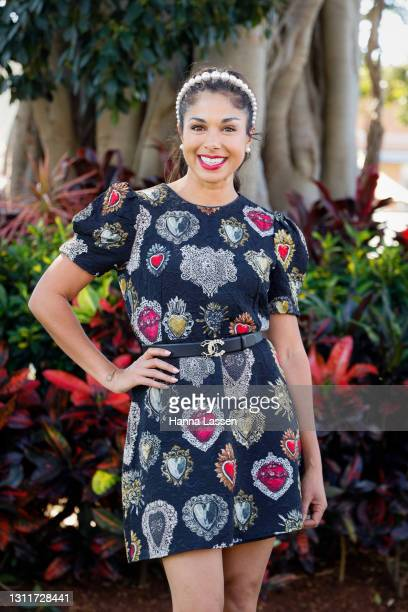 Sarah Roberts attends The Championships Day 1 at Royal Randwick Racecourse on April 10, 2021 in Sydney, Australia.