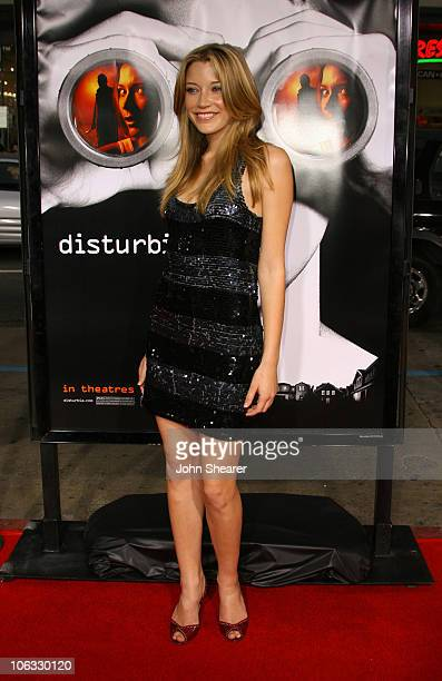 Sarah Roemer during Disturbia Los Angeles Premiere Arrivals at Mann's Chinese in Hollywood California United States