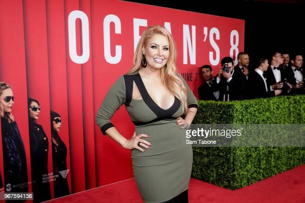 Sarah Rozaattends the Ocean's 8 Melbourne Premiere on June 5 2018 in Melbourne Australia