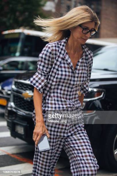 Sarah Rutson at the Monse show during New York Fashion Week Spring/Summer 2019 on September 7 2018 in New York City