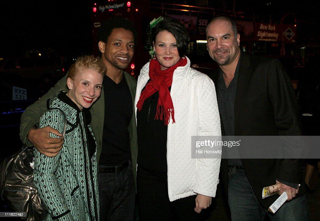 Sarah Salzberg, Derrick Baskin, Lisa Howard and Greg Stuhr, of Spelling Bee the Musical