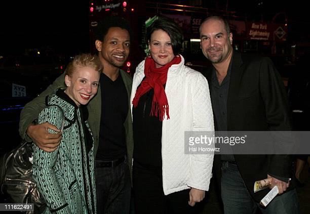 Sarah Salzberg Derrick Baskin Lisa Howard and Greg Stuhr of Spelling Bee the Musical