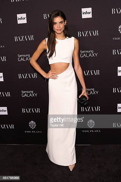 Sarah Sampaio attends the Harper's Bazaar ICONS Celebration at The Plaza Hotel on September 5 2014 in New York City