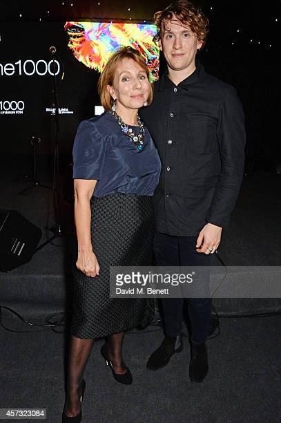 Sarah Sands , editor of the London Evening Standard, and musician Rhodes attend the London Evening Standard's '1000: London's Most Influential...