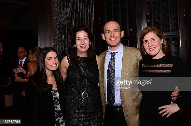 Sarah Santos Mary Dougherty Everett Katzen and Kristina Brodie attend The Philadelphia Style Magazine cover event hosted by Melania Trump at Ritz...
