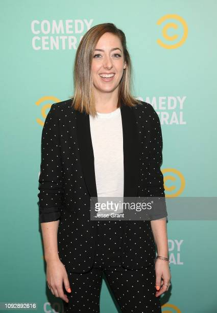 Sarah Schneider attends the 2019 Comedy Central Press Day on January 11 2019 in Hollywood California