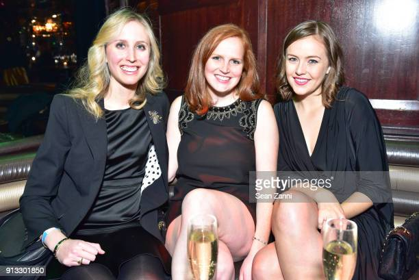 Sarah Scott Sarah Eaby and Margaret Crowell attend Yellowstone Forever Young Patrons Benefit hosted by Arielle Patrick Jackie Rooney and Alice Ryan...