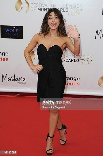 Sarah Shahi arrives at the opening ceremony of the 2012 Monte Carlo Television Festival held at Grimaldi Forum on June 10 2012 in MonteCarlo Monaco