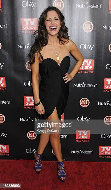 Sarah Shahi arrives at TV Guide Magazine's 2010 Hot List Party at Drai's at the W Hollywood Hotel on November 8, 2010 in Hollywood, California.