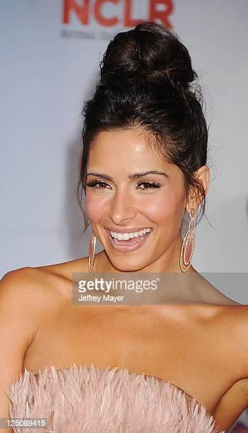 Sarah Shahi attends the 2011 NCR ALMA Awards at Santa Monica Civic Auditorium on September 10 2011 in Santa Monica California
