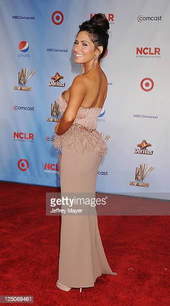 Sarah Shahi attends the 2011 NCR ALMA Awards at Santa Monica Civic Auditorium on September 10 2011 in Santa Monica California