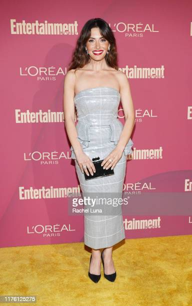 Sarah Shahi attends the 2019 Entertainment Weekly PreEmmy Party at Sunset Tower on September 20 2019 in Los Angeles California