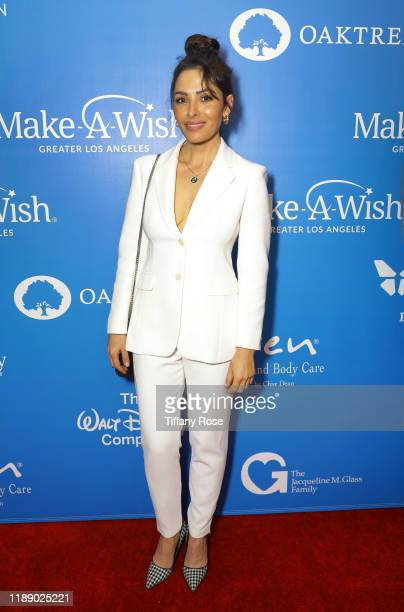 Sarah Shahi attends the 2019 Wish Gala on November 20 2019 in Beverly Hills California