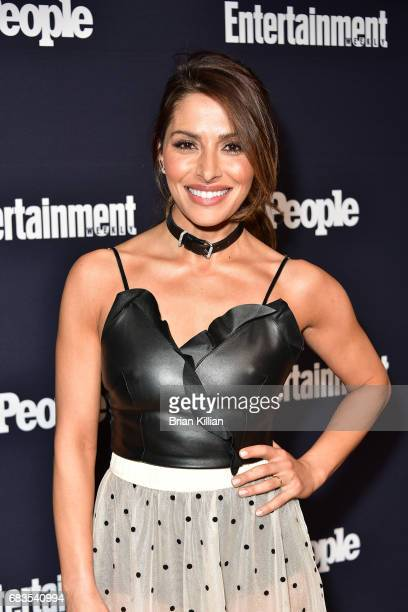Sarah Shahi attends the Entertainment Weekly People New York Upfronts at 849 6th Ave on May 15 2017 in New York City