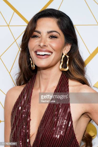 Sarah Shahi attends the Showtime Emmy Eve Nominees Celebrations at San Vincente Bungalows on September 21 2019 in West Hollywood California