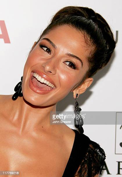 Sarah Shahi during Movieline Hollywood Life's Hollywood Style Awards Arrivals at Pacific Design Center in West Hollywood California United States