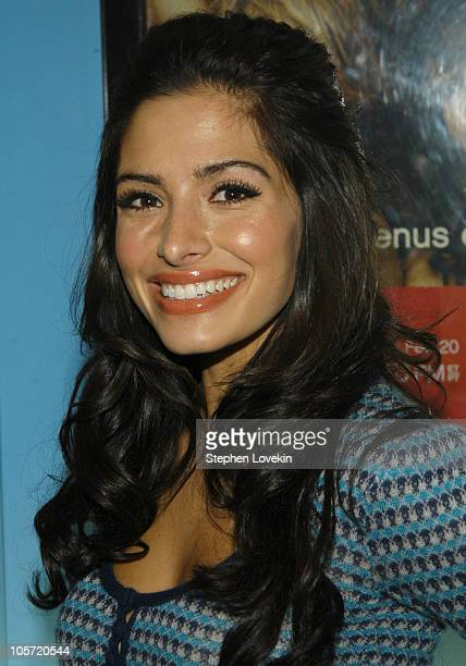 Sarah Shahi during Showtime Presents the Second Season Premiere of The L Word at Chelsea Clearview West Cinemas in New York City New York United...