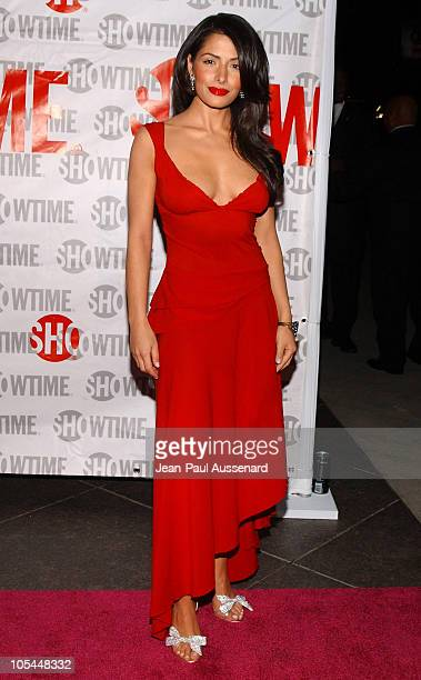 Sarah Shahi during The L Word Showtime Network's Second Season Premiere at Directors Guild of America in Los Angeles California United States