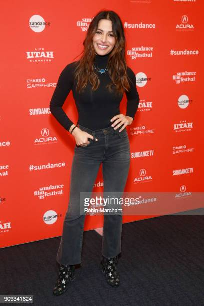 Sarah Shahi from the film 'Halfway There' attends the Indie Episodic Program 1 during 2018 Sundance Film Festival at The Ray on January 23 2018 in...