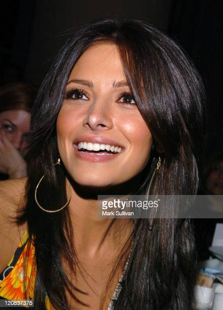 Sarah Shahi of The L Word during Catalina Magazine's Essence of Latins Tour Los Angeles at The Millennium Biltmore Hotel in Los Angeles California...