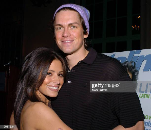 Sarah Shahi of The L Word with Steve Howey of Reba