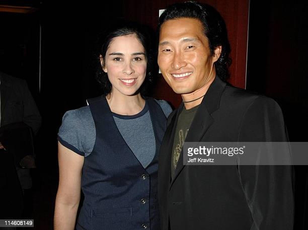 Sarah Silverman and Daniel Dae Kim during Spike TV's 2006 Video Game Awards Hosted By Samuel L Jackson After Party in Los Angeles California United...