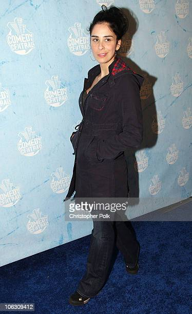 Sarah Silverman arrives at the Comedy Central Emmy Party September 16, 2007 in Los Angeles.