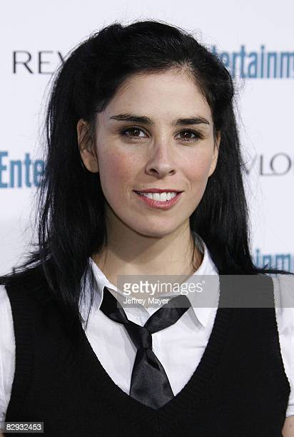 Sarah Silverman arrives at the Entertainment Weekly's 6th Annual Pre-Emmy Celebration at The Historic Beverly Hills Post Office on September 20, 2008...