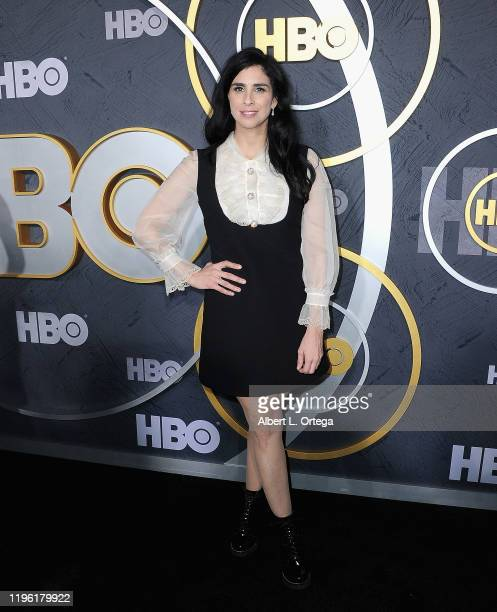 Sarah Silverman arrives for the HBO's Post Emmy Awards Reception held at The Plaza at the Pacific Design Center on September 22, 2019 in West...