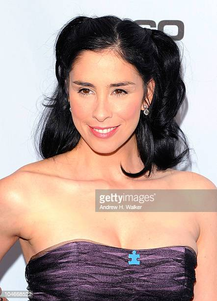 Sarah Silverman attends Comedy Central's Night Of Too Many Stars An Overbooked Concert For Autism Education at the Beacon Theatre on October 2 2010...