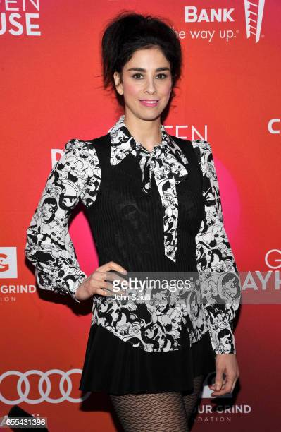 Sarah Silverman attends Geffen Playhouse's 15th Annual Backstage at the Geffen Fundraiser at Geffen Playhouse on March 19 2017 in Los Angeles...