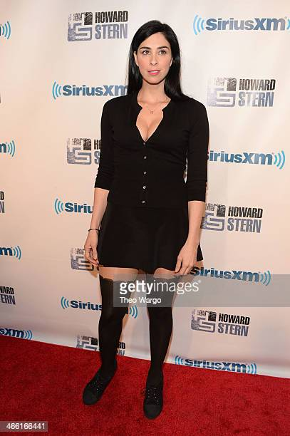 Sarah Silverman attends Howard Stern's Birthday Bash presented by SiriusXM produced by Howard Stern Productions at Hammerstein Ballroom on January 31...