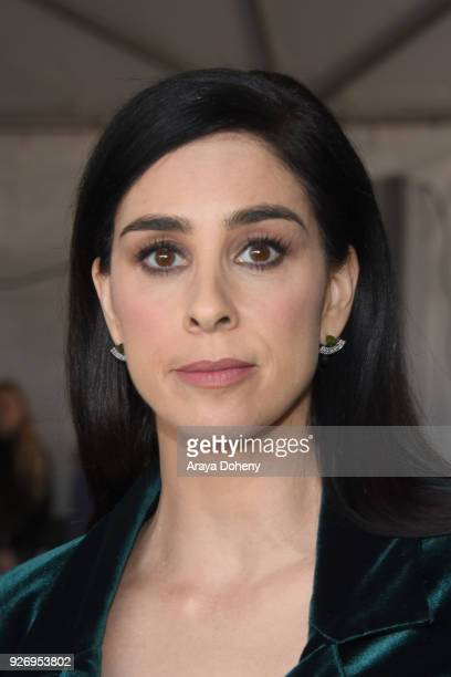 Sarah Silverman attends the 2018 Film Independent Spirit Awards on March 3 2018 in Santa Monica California