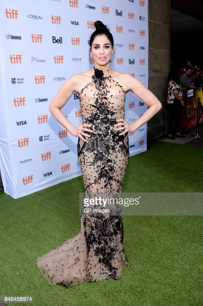 Sarah Silverman attends the 'Battle of the Sexes' premiere during the 2017 Toronto International Film Festival at Ryerson Theatre on September 10...