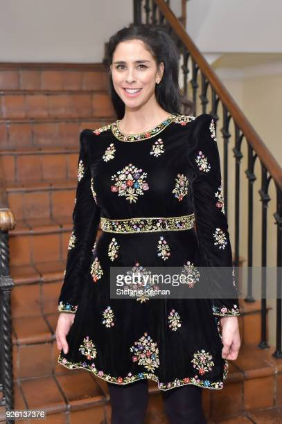 Sarah Silverman attends the Cadillac Oscar Week Celebration at Chateau Marmont on March 1 2018 in Los Angeles California