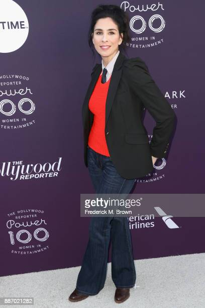Sarah Silverman attends The Hollywood Reporter's 2017 Women In Entertainment Breakfast at Milk Studios on December 6 2017 in Los Angeles California