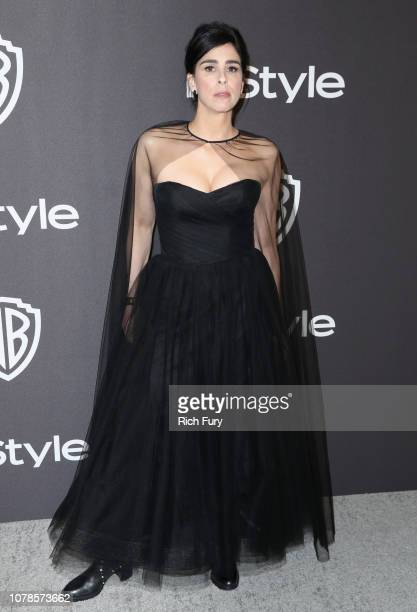 Sarah Silverman attends the InStyle And Warner Bros Golden Globes After Party 2019 at The Beverly Hilton Hotel on January 6 2019 in Beverly Hills...