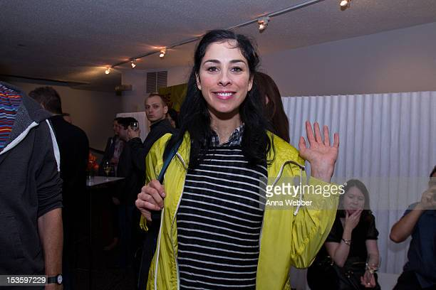 Sarah Silverman attends The New Yorker Festival 2012 at Directors Guild Theatre on October 6 2012 in New York City
