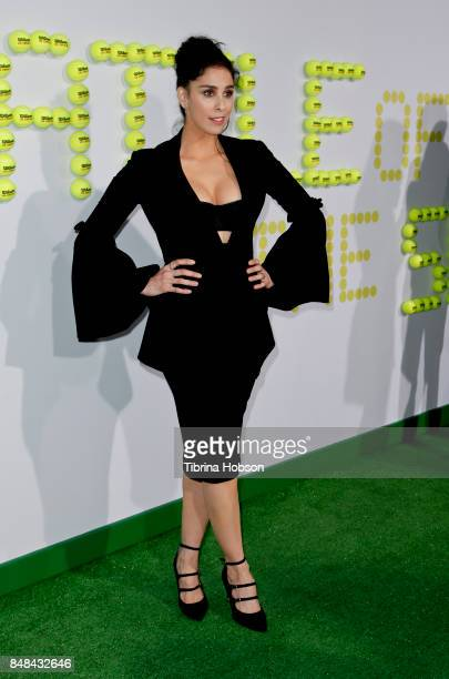 Sarah Silverman attends the premiere of Fox Searchlight Picture 'Battle Of The Sexes' at Regency Village Theatre on September 16, 2017 in Westwood,...