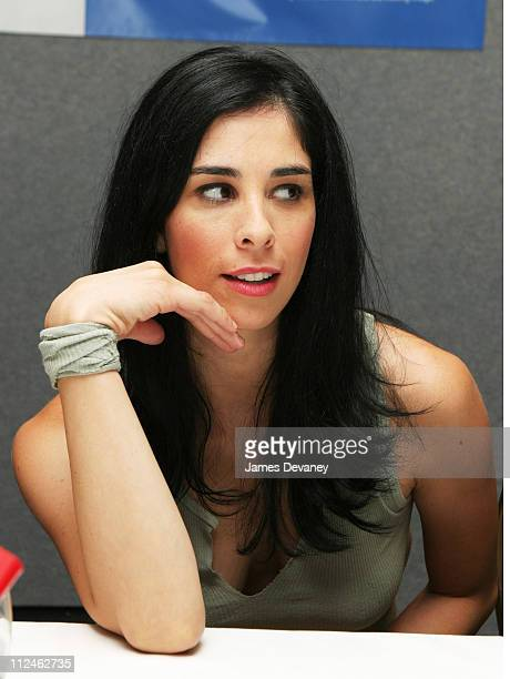 Sarah Silverman during 2003 Toronto Film Festival 'The School of Rock' Press Conference at Delta Chelsea Hotel in Toronto Ontario Canada