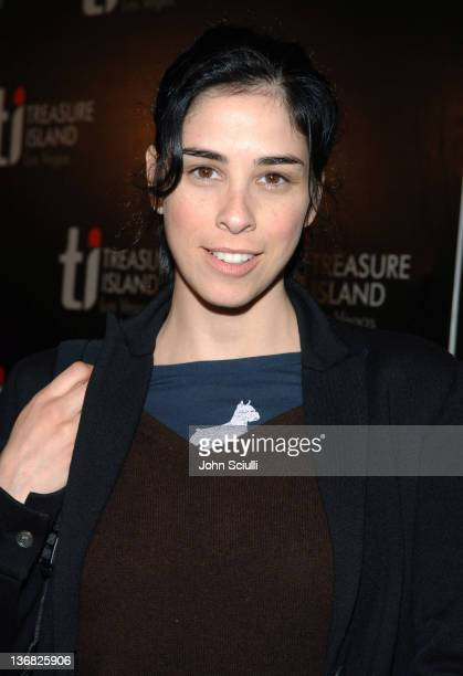 Sarah Silverman during 2nd Annual Lakers Casino Night Benefiting the Lakers Youth Foundation Red Carpet and Inside at Barker Hanger in Santa Monica...