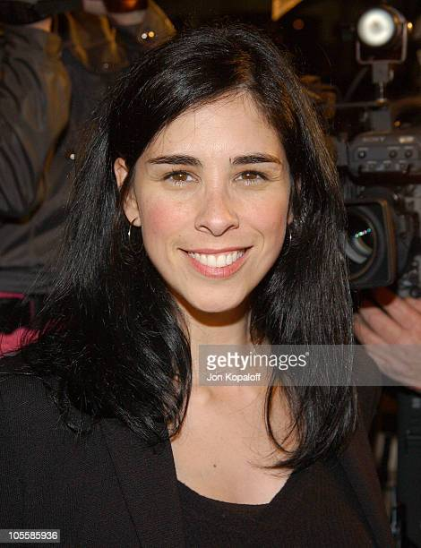 "Sarah Silverman during ""A Love Song For Bobby Long"" Los Angeles Premiere- Arrivals at Mann Bruin in Westwood, California, United States."
