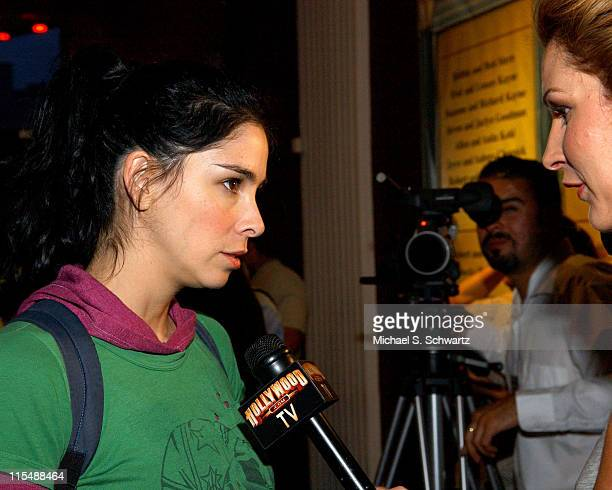 Sarah Silverman during CAAF - A Night of Comedy - April 14, 2007 at The Wilshire Theatre in Beverly Hills, California, United States.