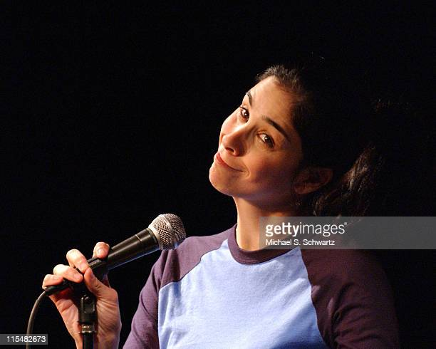 Sarah Silverman during College Humorcom Presents Comedy Juice at The Hollywood Improv in Hollywood California United States