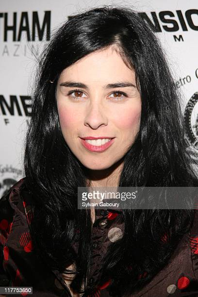 """Sarah Silverman during """"School For Scoundrels"""" New York Premiere at AMC Loews Lincoln Square in New York City, New York, United States."""