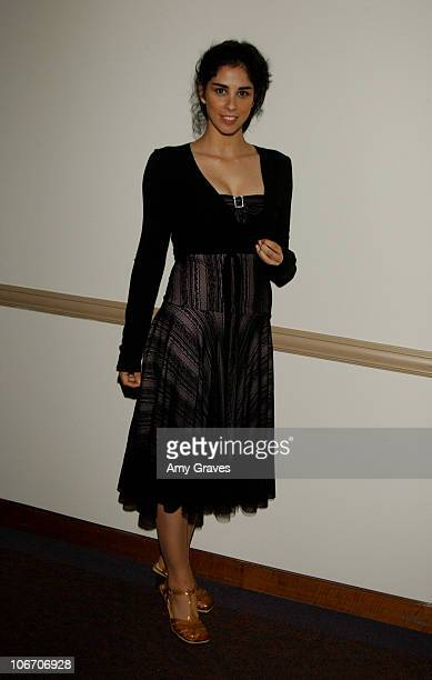 Sarah Silverman during 'Windy City Heat' World Premiere at Paramount Theater in Los Angeles California United States