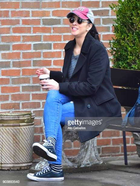 Sarah Silverman is seen in the East Village on January 11 2018 in New York City