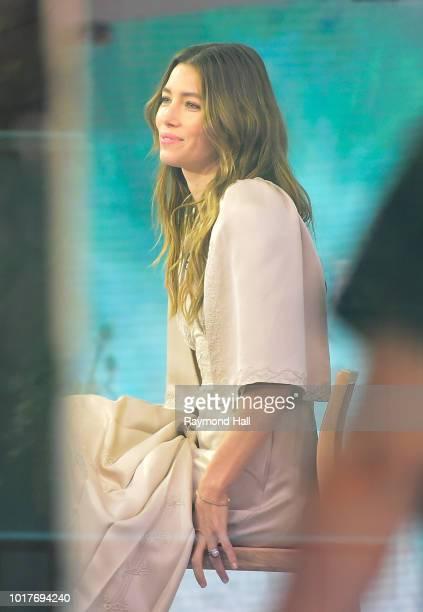 Sarah Silverman is seen walking in soho on August 16 2018 in New York City
